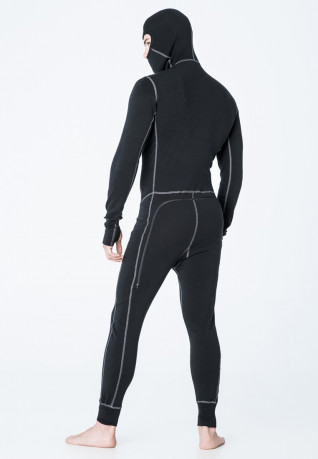 Комбинезон муж. Aclima WarmWool Overall Man Black S