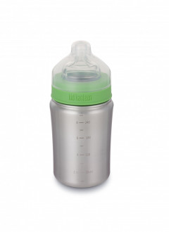 Бутылочка для кормления Kid Kanteen Baby Bottle Brushed Stainless 267 ml