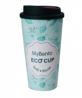 Термостакан Summit MyBento Double Wall Eco Cup зеленый 450 мл