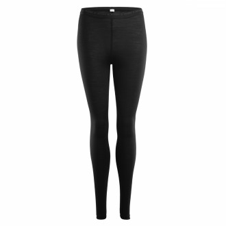 Термоштаны жен. Aclima LightWool Longs Woman JetBlack XS
