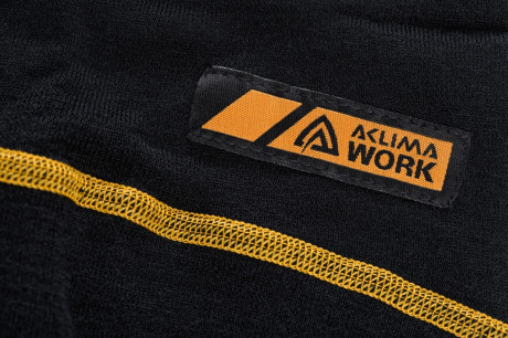 Термофутболка Aclima Work Warm Shirt Crew Neck Black M