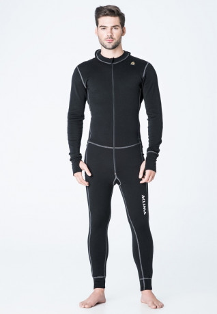 Комбинезон муж. Aclima WarmWool Overall Man Black L