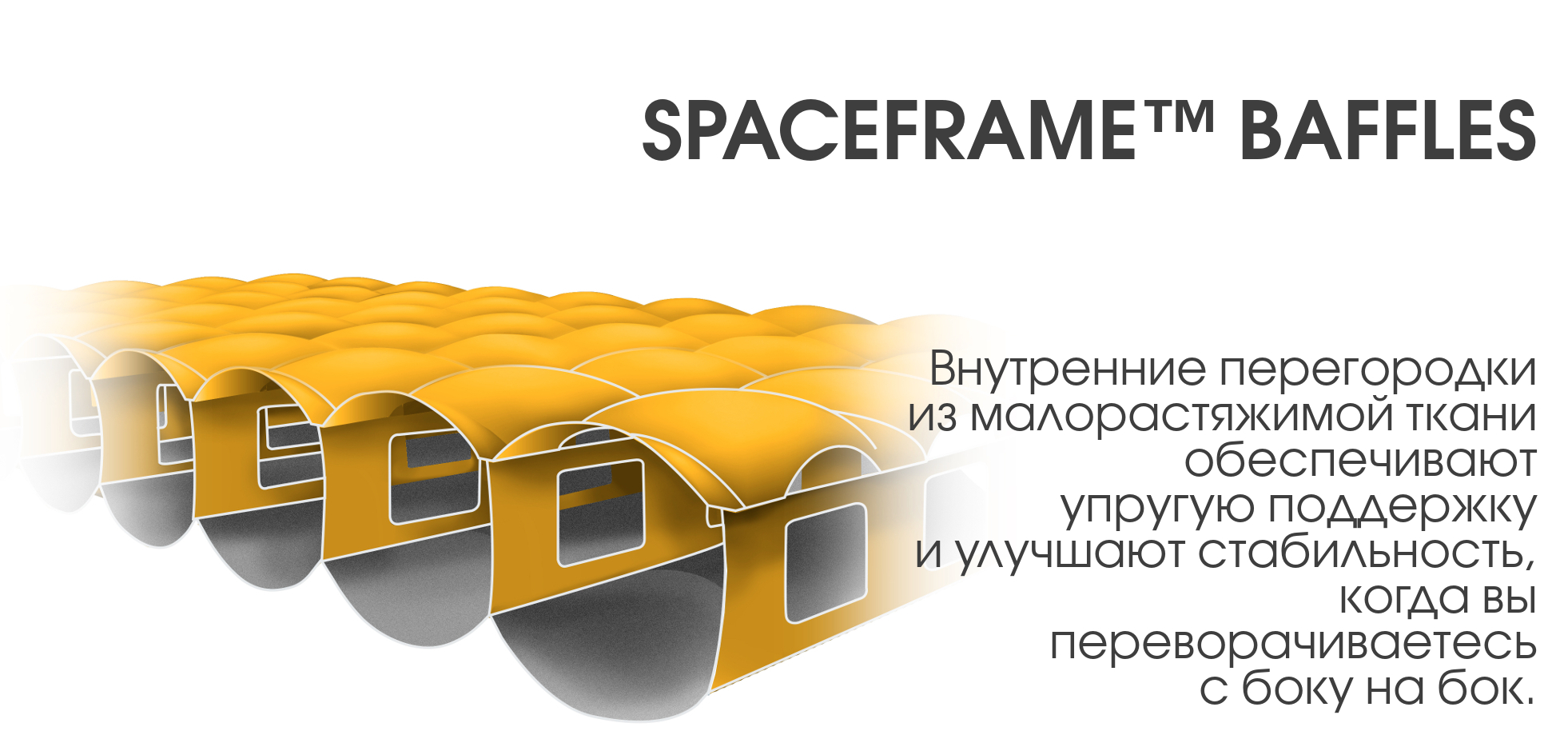 Внутренний каркас жесткости NEMO Spaceframe Baffle