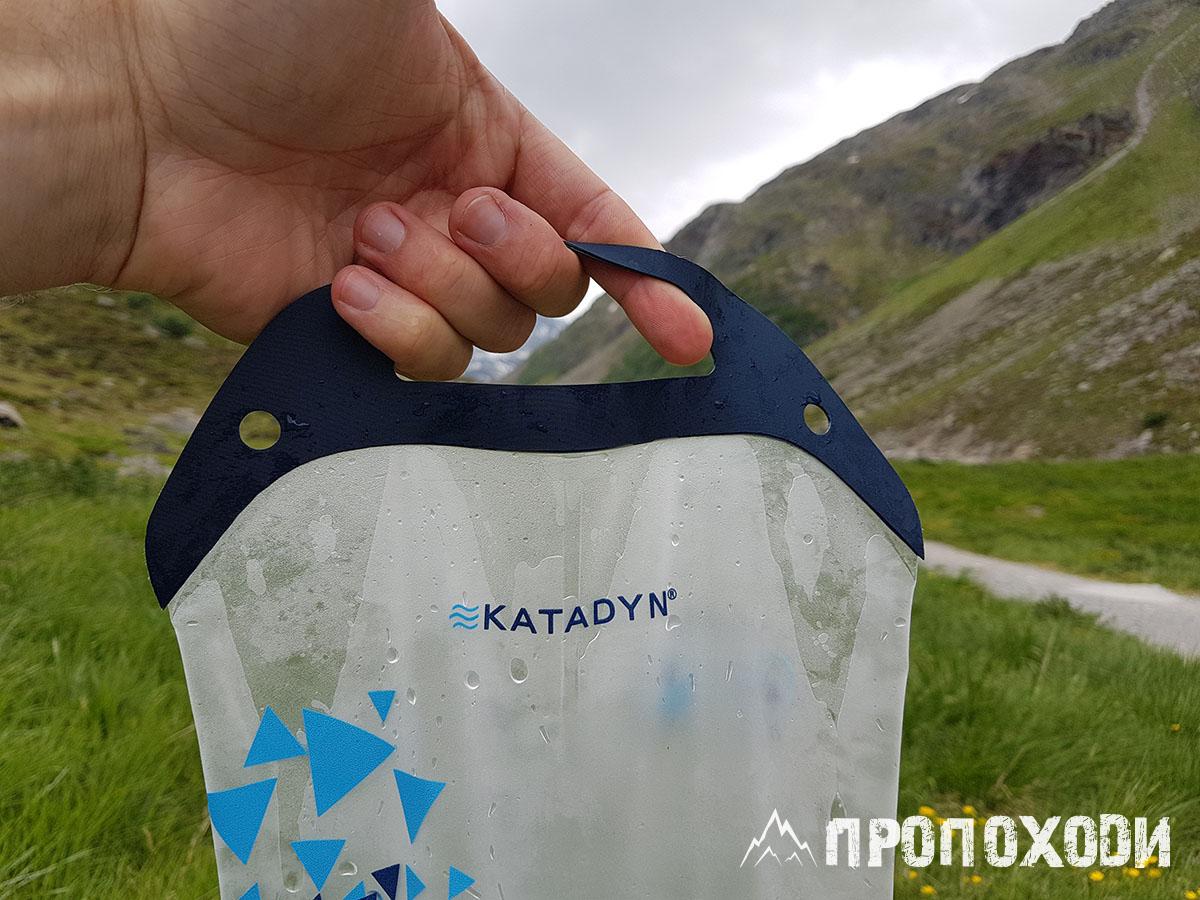 Туристична фляга-фільтр для води Katadyn BeFree 3 л