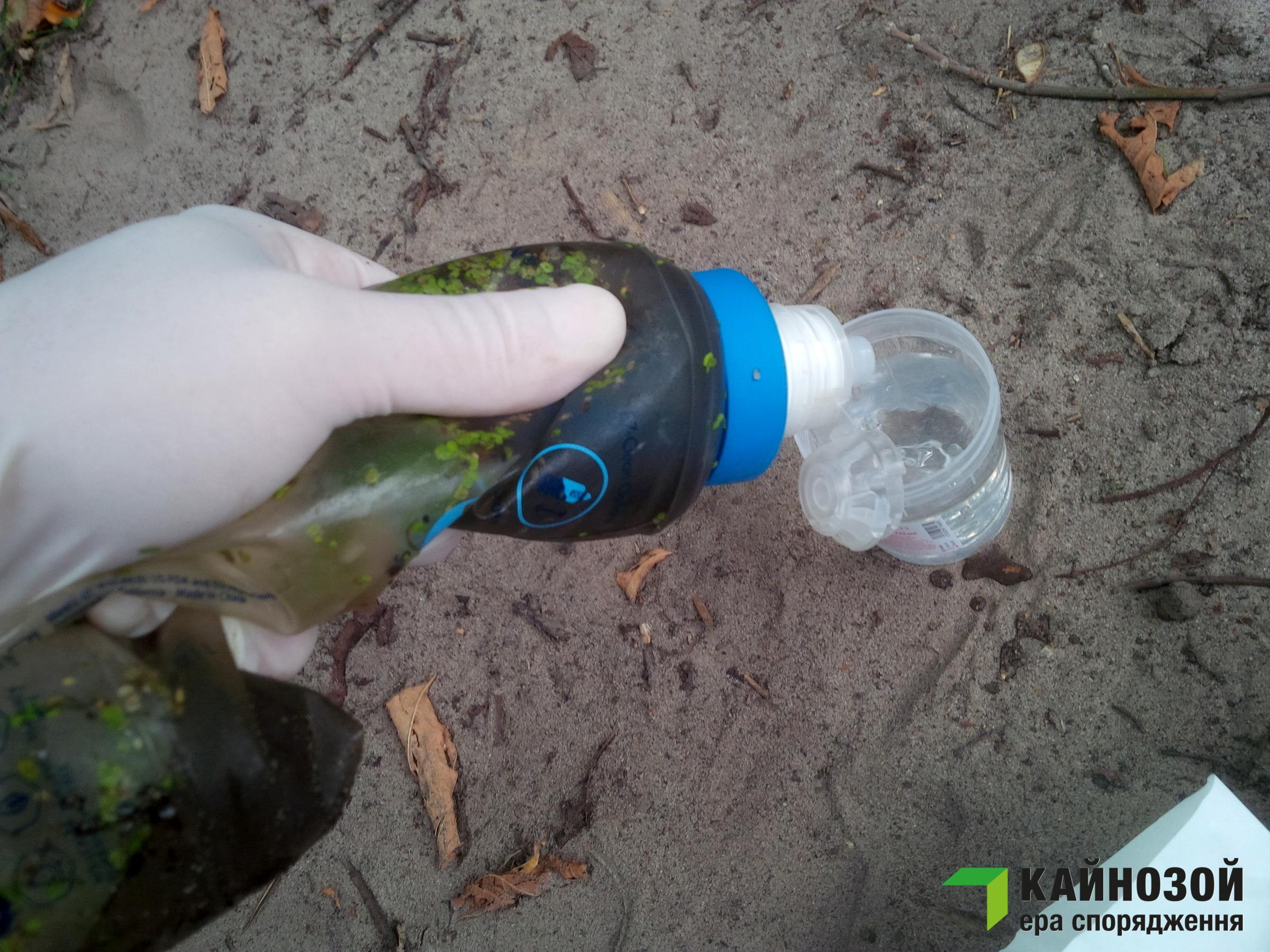Очистка воды в походе - портативный туристический фильтр Katadyn BeFree