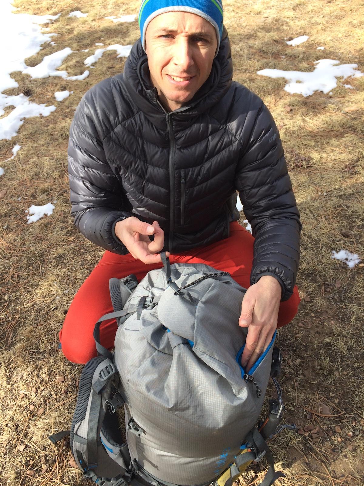 Альпинистский рюкзак Blue Ice Yeti 50 L
