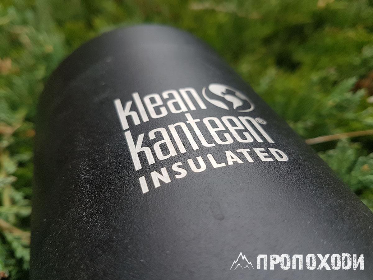 Klean Kanteen TKPro 1 L Shale Black
