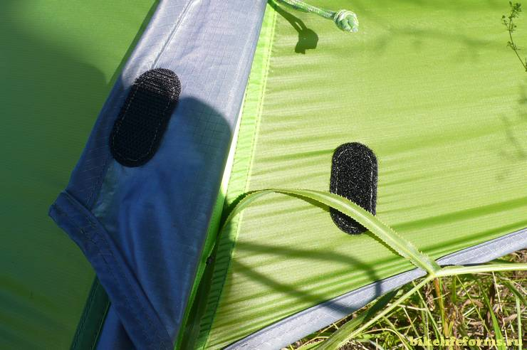 Ультралегкая палатка для велосипеда NEMO Dagger 2P