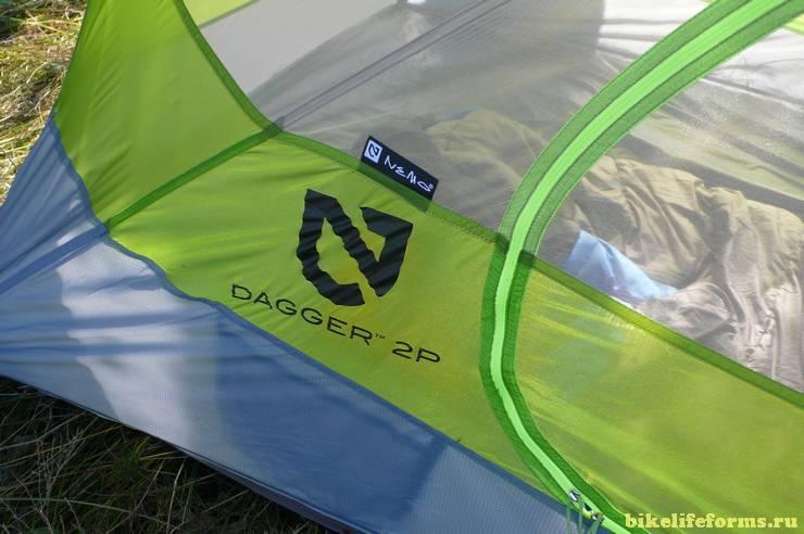 Американская двухместная трехсезонная велосипедная палатка NEMO Dagger 2P