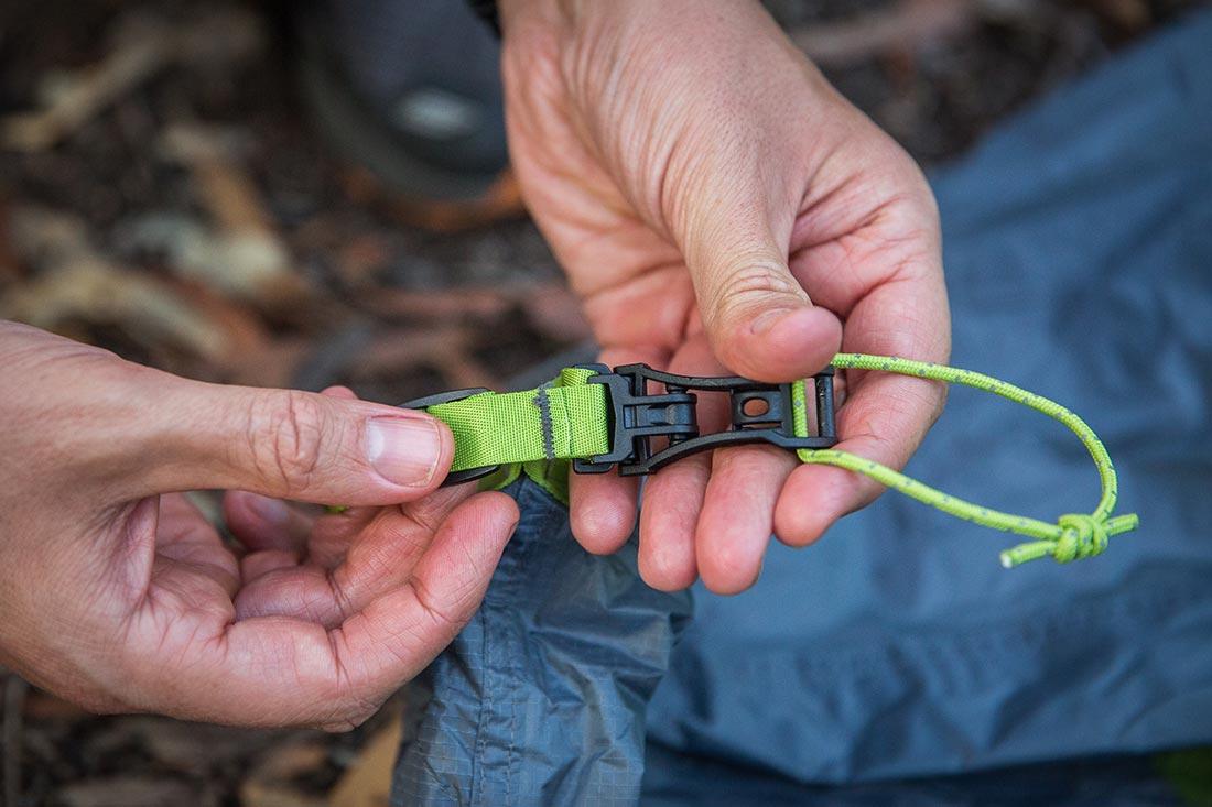 Крепления Jake`s Feet трехсезонной ультралегкой палатки NEMO Dagger