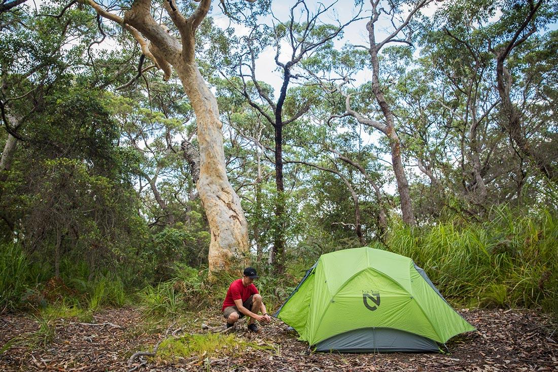 Универсальная трехсезонная двухместная туристическая палатка NEMO Dagger
