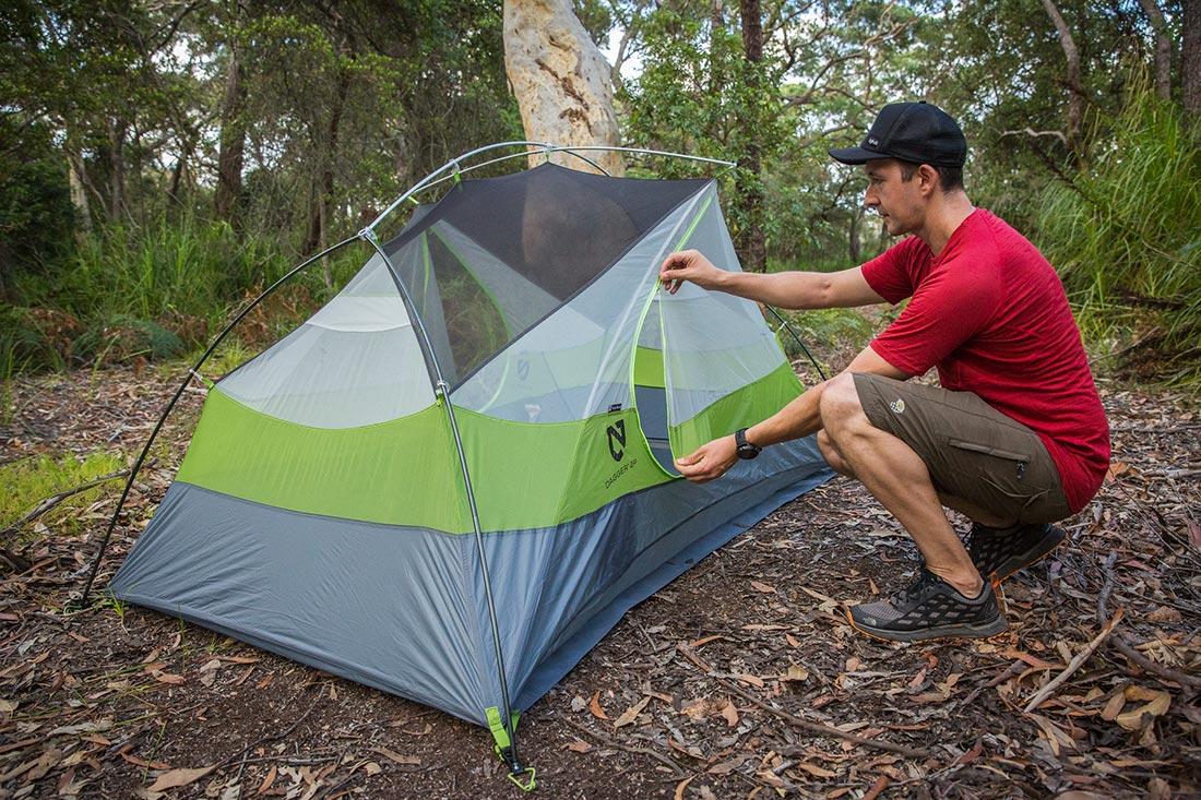 Легкая палатка для туризма Немо Даггер