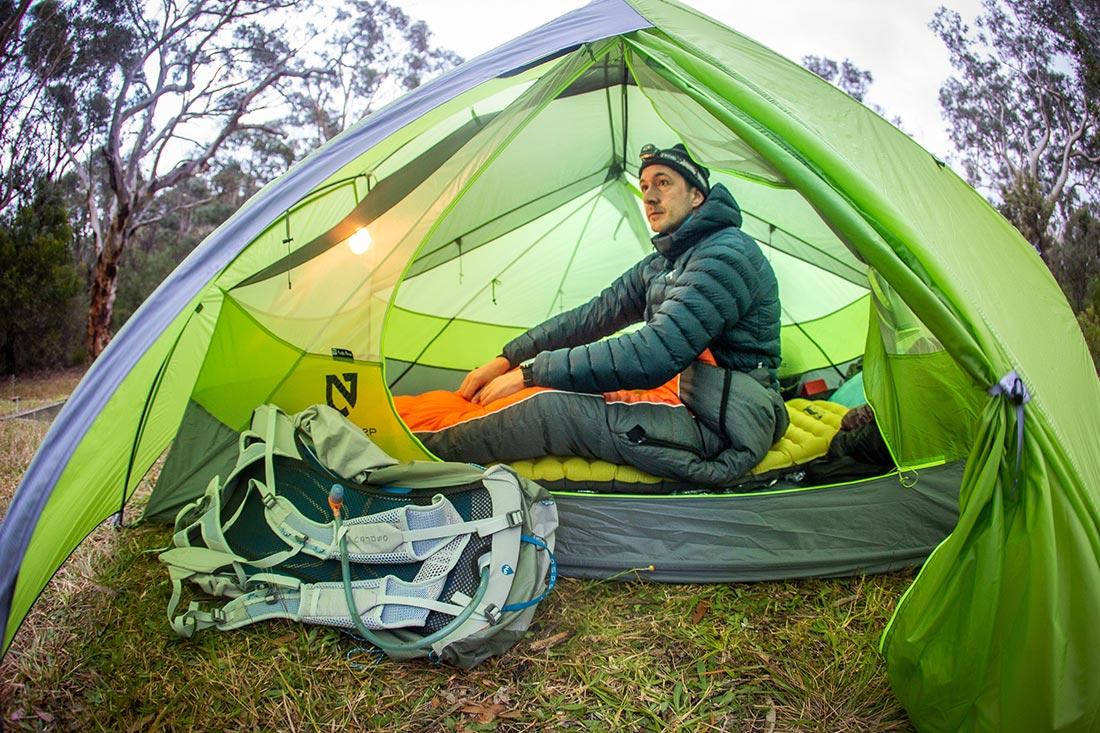 Палатка для легкоходов NEMO Dagger