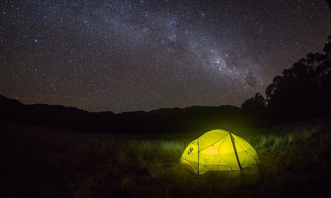 Просторная палатка с двумя тамбурами NEMO Dagger 2P