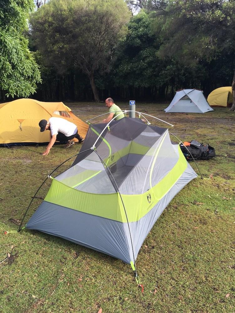 Американская туристическая палатка для легкоходов NEMO Dagger 2P