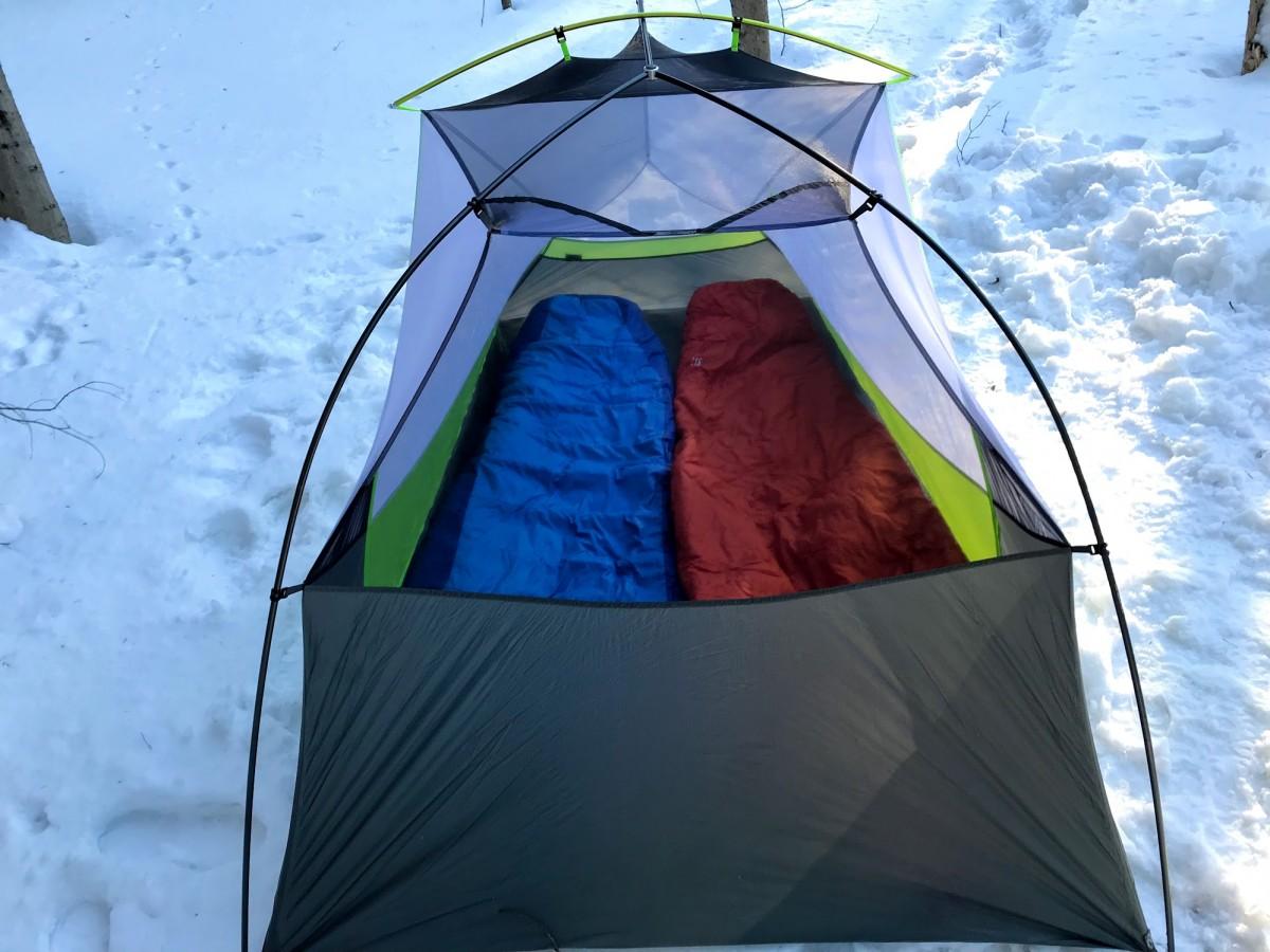 Ультралегкая палатка NEMO Dragonfly 2P