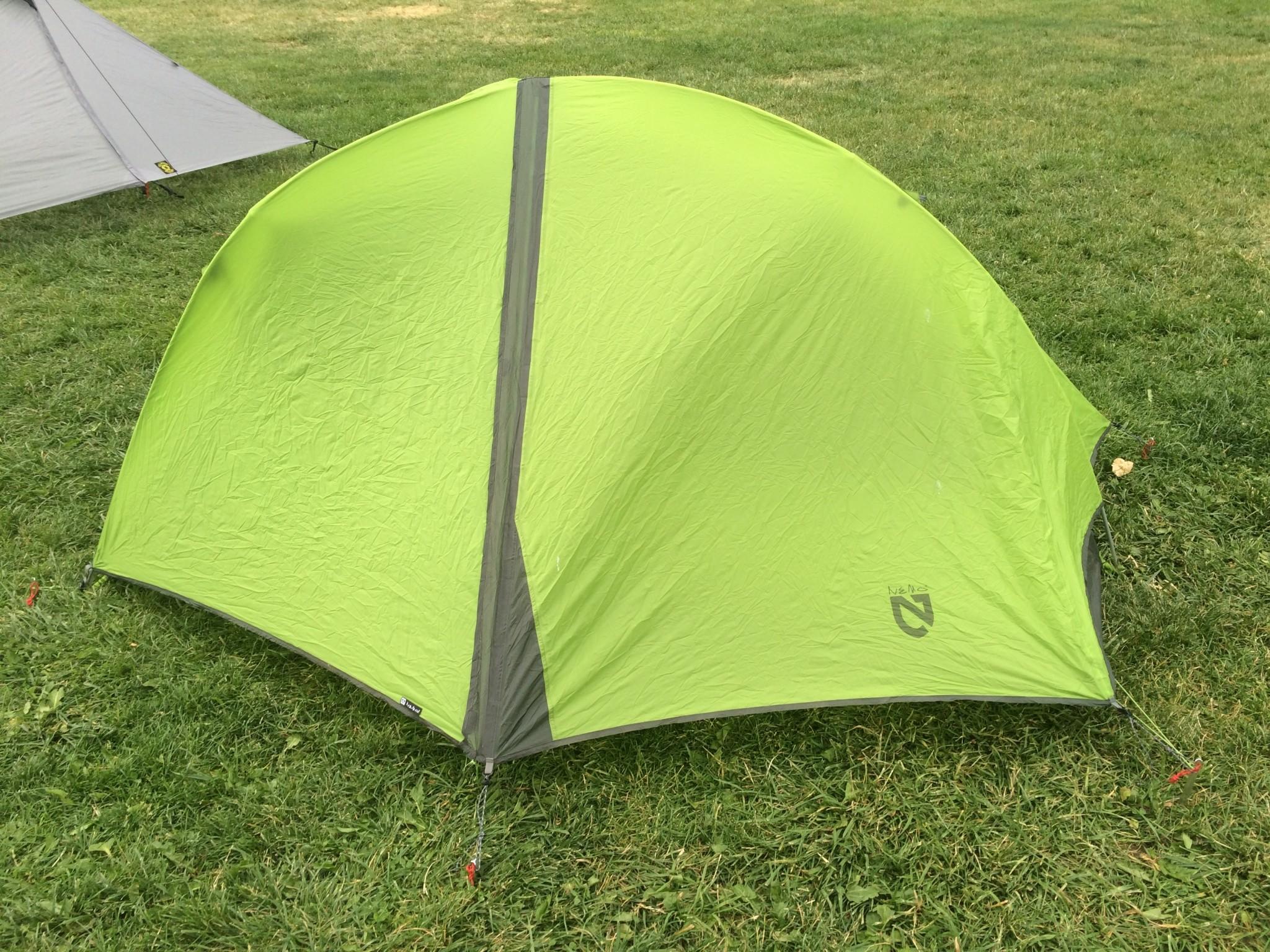 Двухместная туристическая ultralight палатка NEMO Hornet