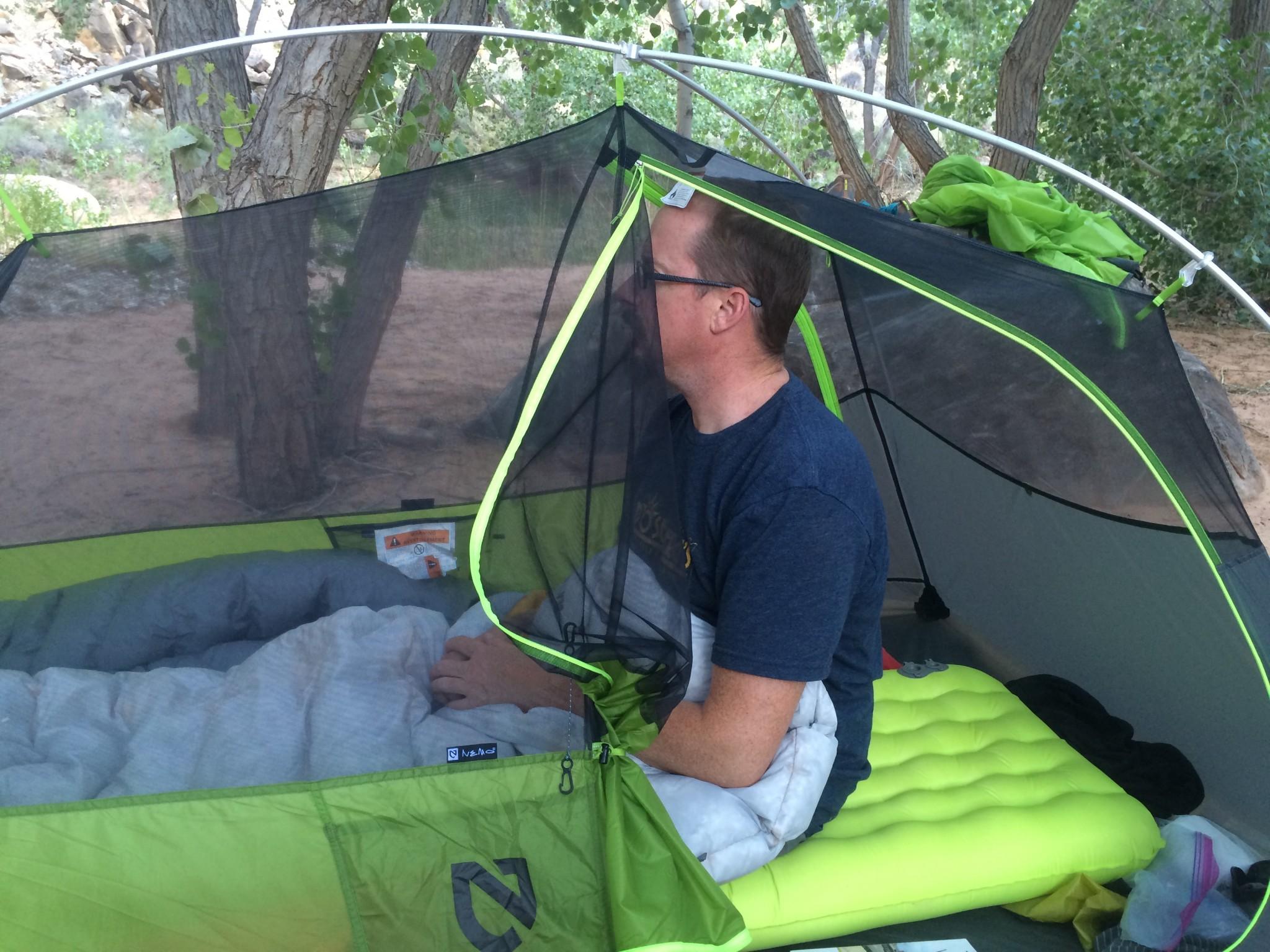 Обзор палатки NEMO Hornet 2