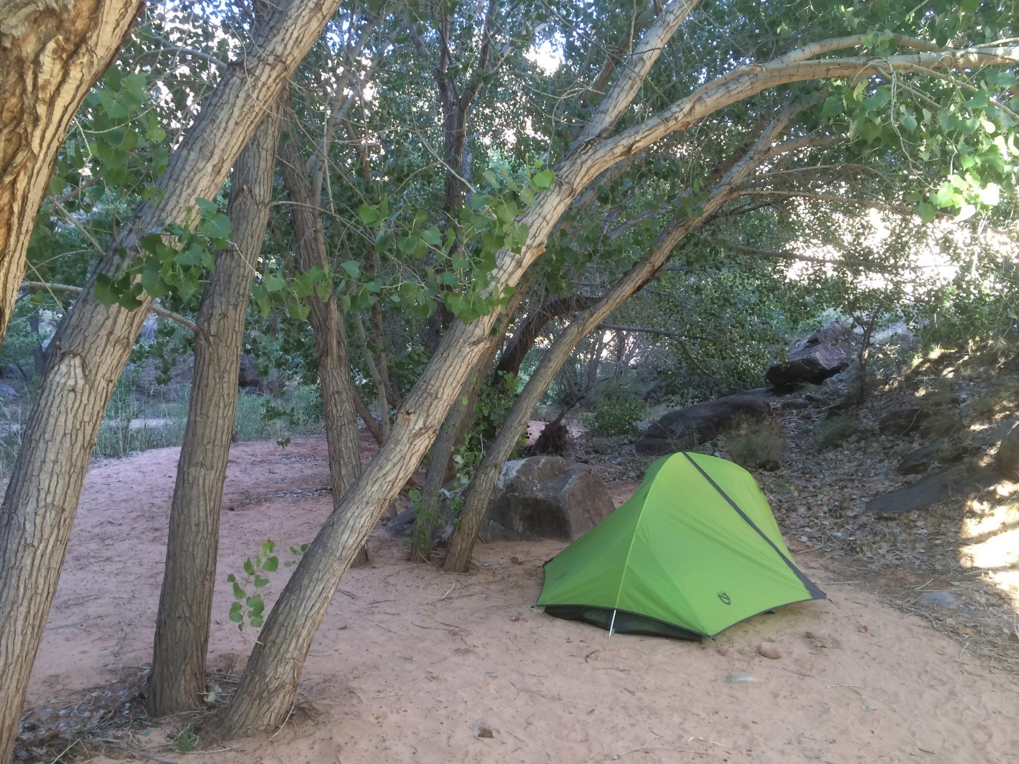 Легкая двухместная туристическая палатка NEMO Hornet 2P