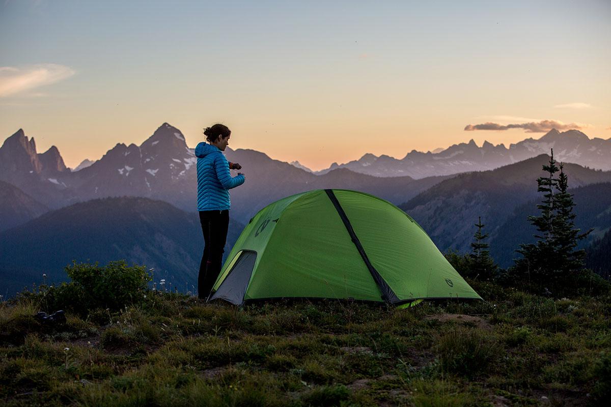 Ультралегкая палатка NEMO Hornet 2