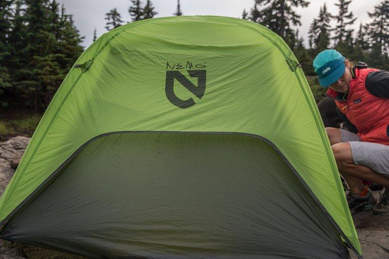 Укороченный тент ультралегкой палатки NEMO Hornet 2P