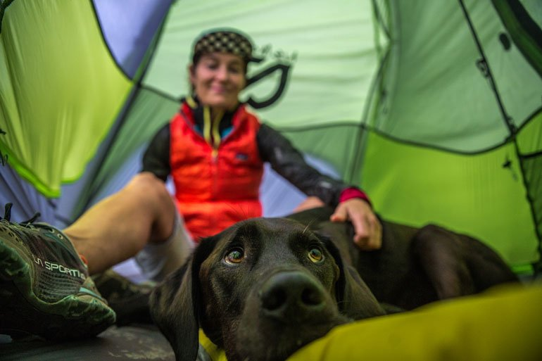 Двухместная туристическая палатка NEMO Hornet 2P