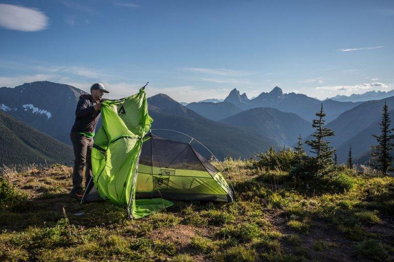 Американская туристическая палатка NEMO Hornet 2P