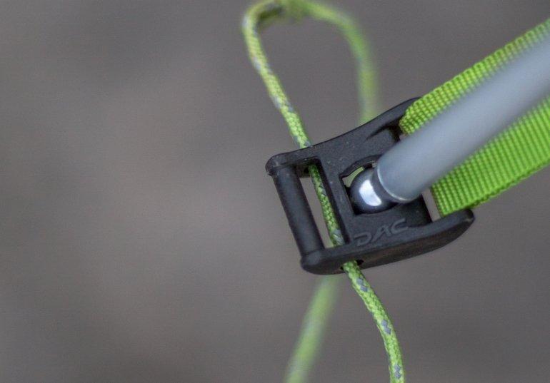 Крепления Jake`s Foot ультралегкой туристической палатки NEMO Hornet 2P