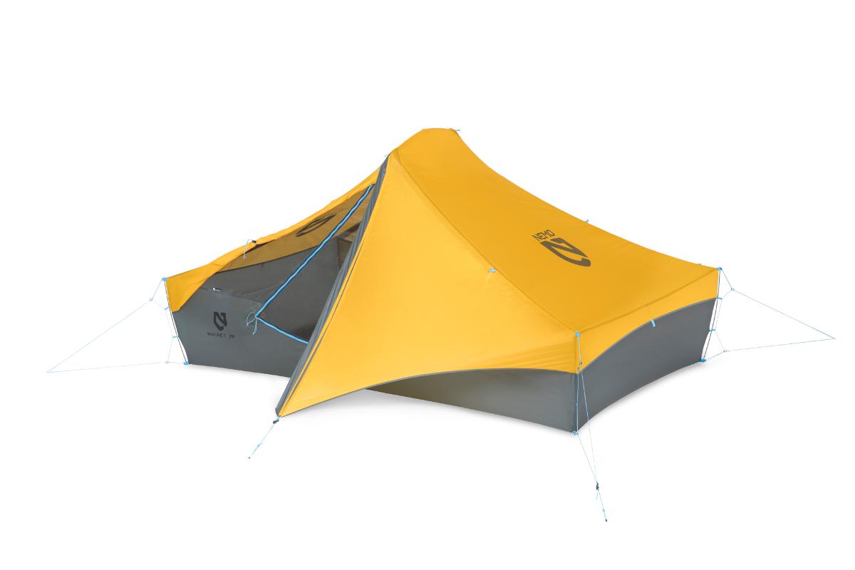 Ультралегкая двухместная палатка NEMO Rocket 2P