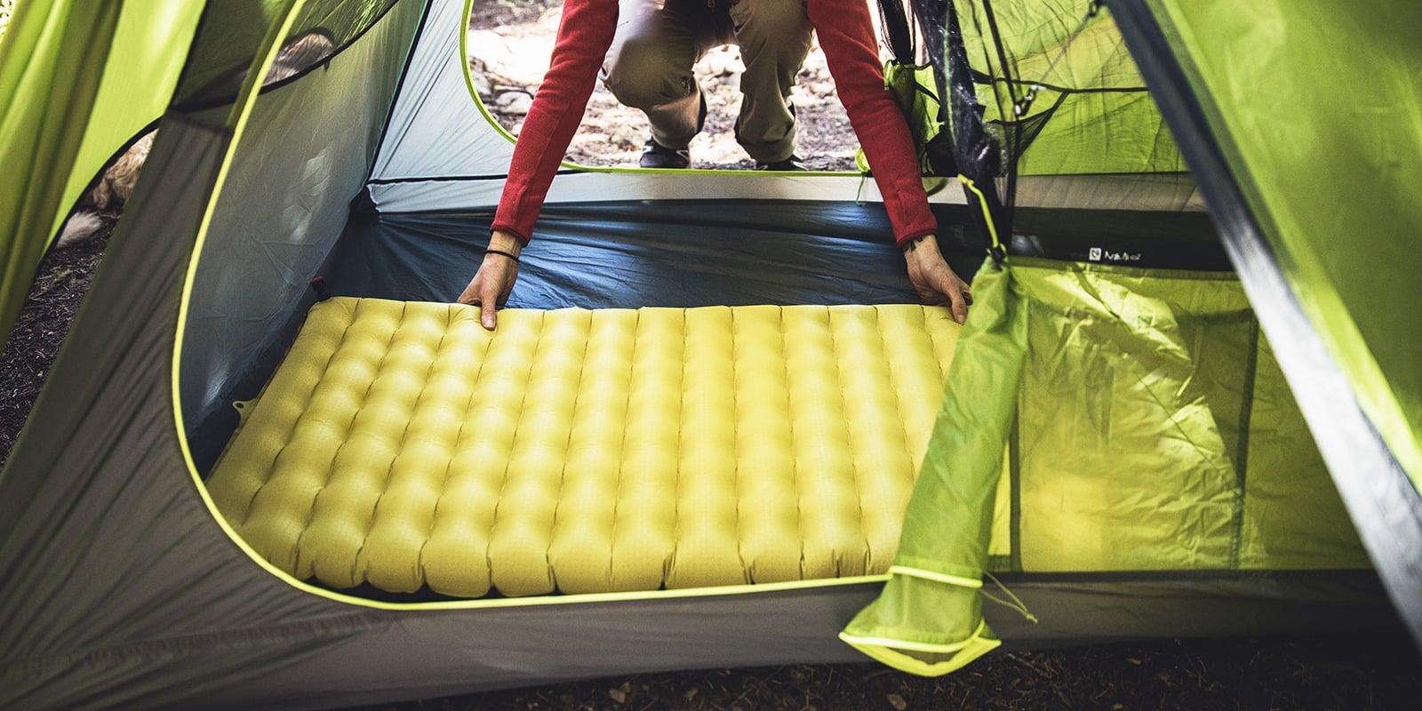 Как ухаживать за надувными туристическими ковриками для походов