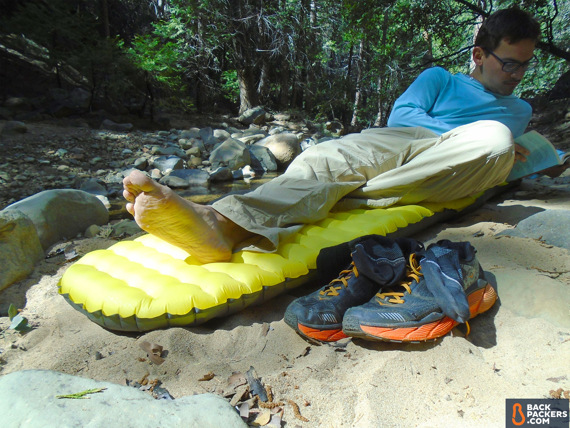 Ultralight надувной туристический коврик для легкоходов Немо Тенсор