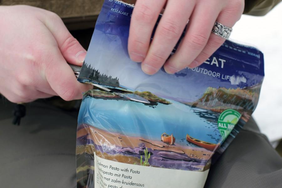 Еда для альпинизма Trek n Eat