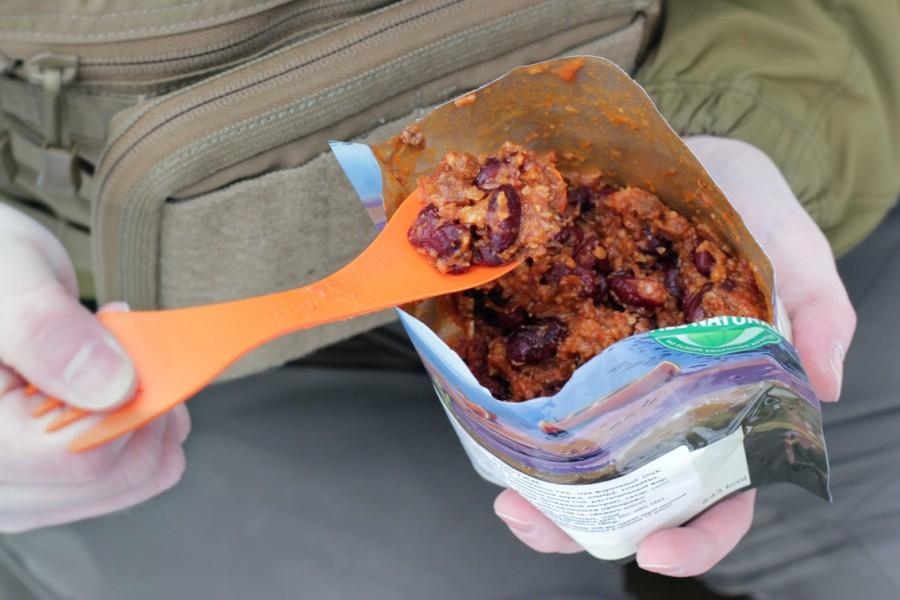 Сублимированное блюдо для туризма Trek n Eat Чили кон карне