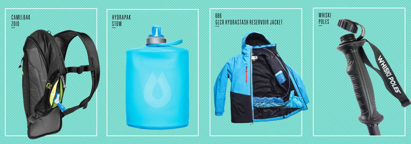 Мягкая фляга для сноубордистов и лыжников HydraPak Stow