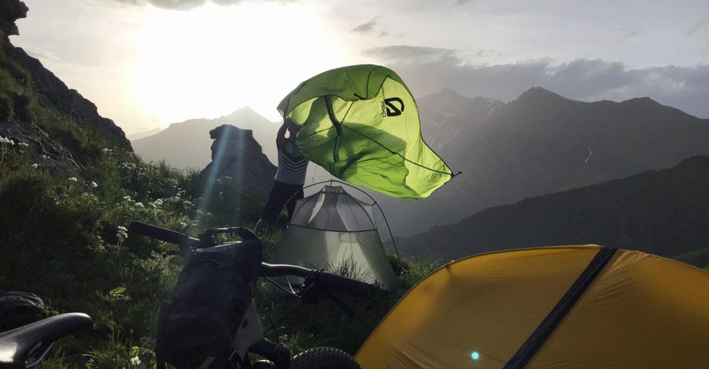 Ультралегкая туристическая палатка NEMO